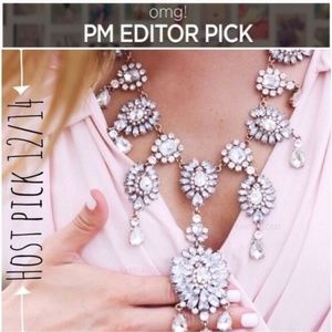 Jewelry | Chandelier Crystal Royalty Necklace